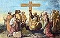Église Saint-Martin de Castelnau-d'Estrétefonds - Le Départ des apôtres allant prêcher l'Evangile par Robert Arsène IM31000074.jpg