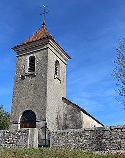 Église St Martin Napt - Sonthonnax-la-Montagne - 2017-10-25 - 1.jpg