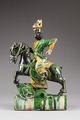 Östasiatisk keramik. Ryttare, Mingdynastin - Hallwylska museet - 96082.tif