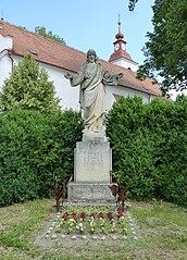 socha Ježíše Krista