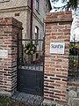 Škvorec, Sauna, vstup.jpg