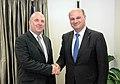 Συνάντηση ΥΦΥΠΕΞ Κ.Τσιάρα με Επίτροπο Ανθρωπίνων Δικαιωμάτων του Συμβουλίου της Ευρώπης, Nils Muiznieks (8433372144).jpg