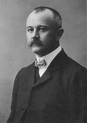 Jovan Cvijić - Photograph by Milan Jovanovic (1911)