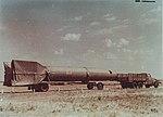 Автопоезд с баллистической ракетой дальнего действия Р-2.jpg