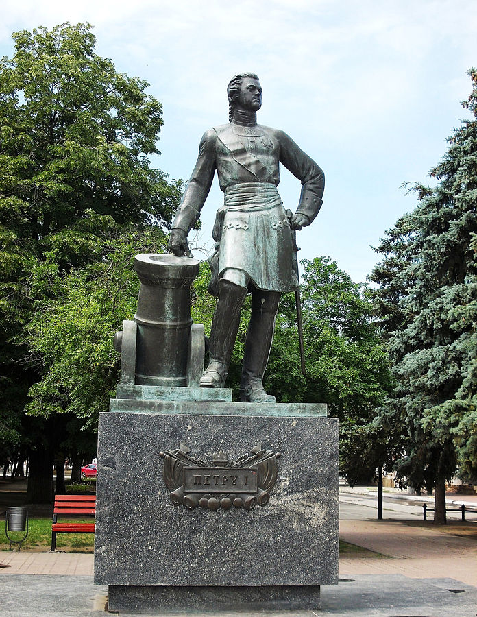 Monument to Peter I (Azov)