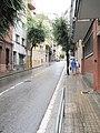 Барселона (Испания) Городская улица на холме - panoramio.jpg