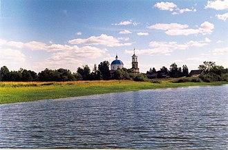 Penovsky District - The village of Vseluki