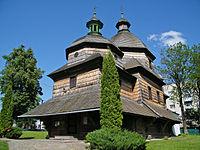 Жолква. Троицкая церковь.