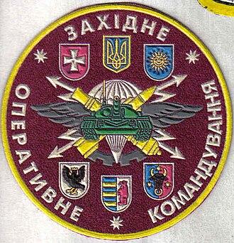 Operational Command West - Image: Західне оперативне командування