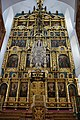 Иконостас надвратной Преображенской церкви Новодевичьего монастыря 01.jpg