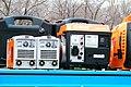 Инверторные сварочные аппараты и бензиновая электростанция.JPG