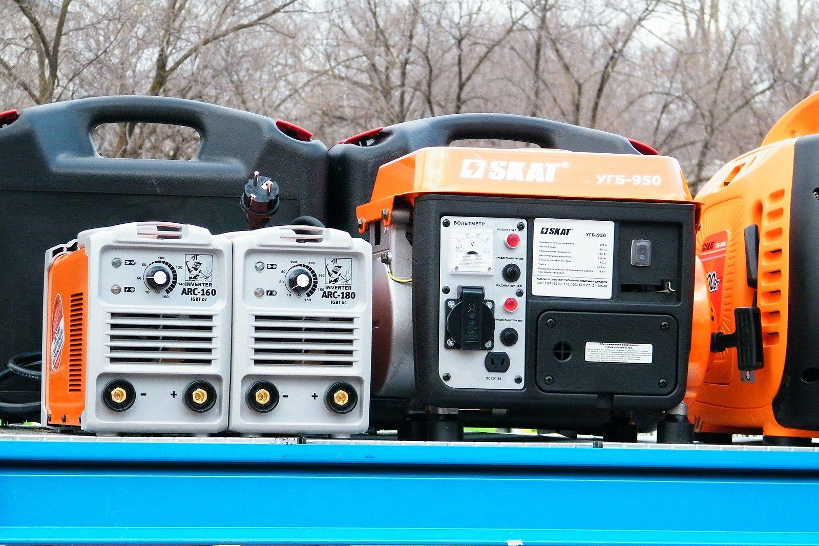 генератор бензиновый инверторный