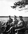 Карл Густав Маннергейм со своим личным врачом Лаури Калая и генералом Акселем Айро.jpg