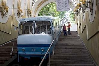 Kiev Funicular - Image: Київський фунікулер 1