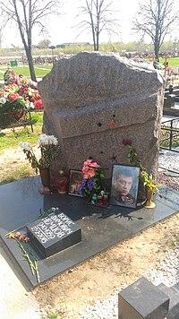 Могила Бориса Немцова на Троекуровском кладбище Москвы.jpg