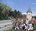Південно-західна вежа Кривченського замку, с. Кривче.jpg