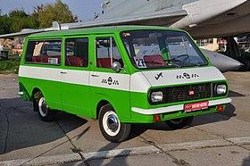 RAF mini-vans
