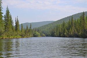 Baikal-Lena Nature Reserve - Lena River in Biakal-Lena Zapovednik