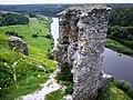 Руїни замку в с. Губків (ракурс 6).JPG