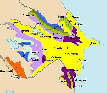 Типы климата Азербайджана [1]: