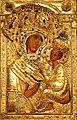 Тихвинская икона Божией Матери в окладе.jpg
