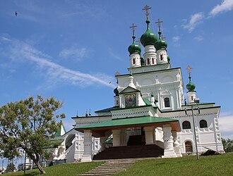 1690s in architecture - Image: Троицкий собор (Соликамск)