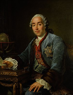 1762 in art - Image: Франсуа Гюбер Друэ младший. Портрет князя Д.М.Голицына