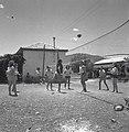 אילת השחר - נוער משחקים אחרי עבודתם בכדור מעופף-JNF012990.jpeg