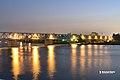 مشهد ليلي لنيل مصر كفرالزيات محافظة الغربية2.jpg