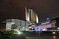 インターコンチネンタルホテル, Pacifico Yokohama and Inter continental hotel - panoramio.jpg