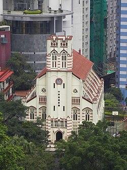 christianity in hong kong wikipedia