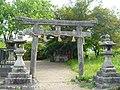 御所市古瀬 大倉姫神社鳥居 Ōkurahime-jinja, Kose 2011.5.13 - panoramio.jpg