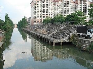 Dongfeng, Zhongshan - Image: 東鳳鎮中心河