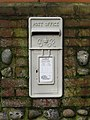 -2019-02-05 Old letter box outside Suffiled House, Pit Road, Northrepps, Norfolk.JPG