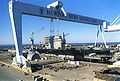 001111-N-0000D-002 CVN 76 Under Construction.jpg