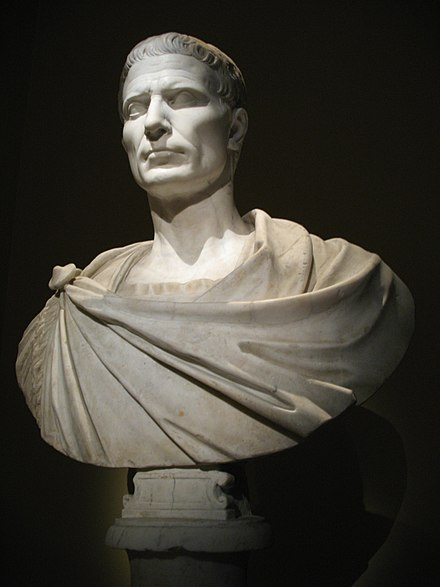 Julius Caesar established Florence in 59 BC 0092 - Wien - Kunsthistorisches Museum - Gaius Julius Caesar.jpg