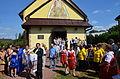 012 Heilige Messe im byzantinischen Ritus und Erntedankumzug 2013 am 18. August in Mokre.JPG