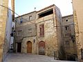 024 Cases del c. Major (Cabacés), vora l'església.JPG