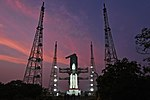 03 GSLV Mk III D2 with GSAT-29 on Second Launch Pad of Satish Dhawan Space Centre, Sriharikota (SDSC SHAR).jpg