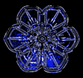 03 snowflake colorized early experimental digital photography by Rick Doble.png
