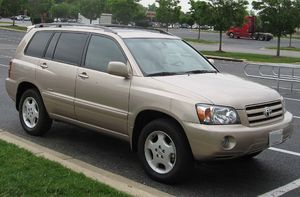 Toyota Highlander - 2004–2007 MY Highlander Limited (US)