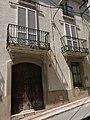 076 Cal Panxo, c. Mar 16 (Calafell), portal i balcons.jpg