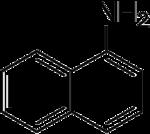 Strukturformel 1-Naphthylamin