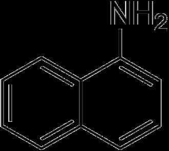 1-Naphthylamine - Image: 1 Naphthylamine