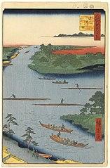 The mouth of the Nakagawa River