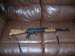 My AK-47 (Romanian)