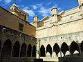 107 Catedral de Tortosa, claustre, angle nord-oest.JPG