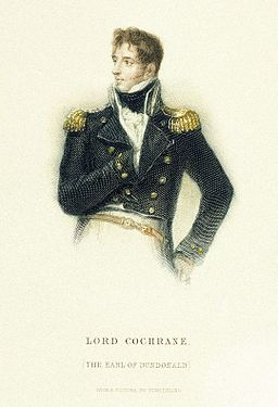 10th Earl of Dundonald Thomas Cochrane