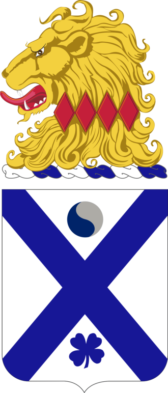 114th Infantry Regiment (United States) - Coat of arms