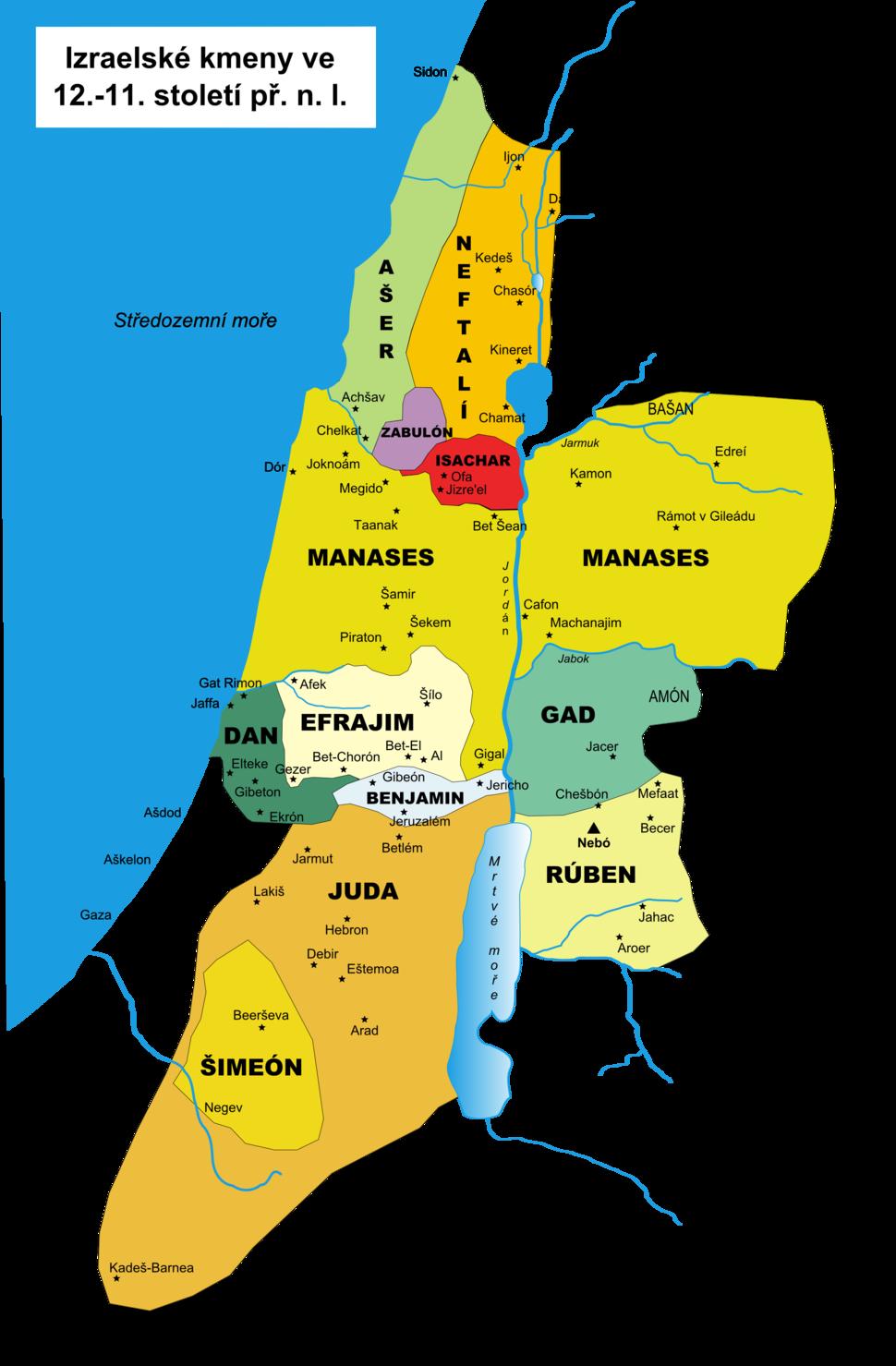12 staemme israels cs
